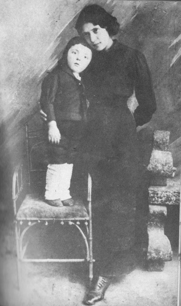D.Dimov-s-majka-si_1913-g
